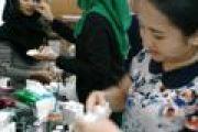 PERTEMUAN RUTIN DHARMAYUKTI KARINI CABANG TEMBILAHAN BULAN APRIL 2017