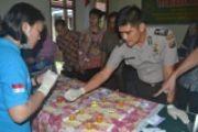 Tes Narkoba (Urine) Oleh BNN Di Pengadilan Negeri Tembilahan